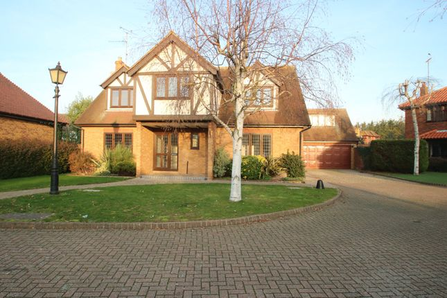 Thumbnail Detached house for sale in Royer Close, Clements Hall Way, Hawkwell, Hockley