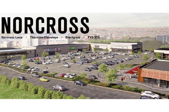 Thumbnail Commercial property to let in Units 1-8, Norcross Retail Park, Norcross Lane, Thornton-Cleveleys, Blackpool, Lancashire