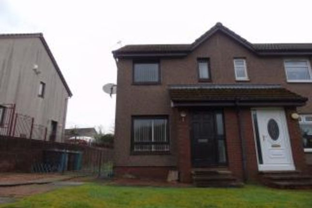 Thumbnail Semi-detached house for sale in Springholm Drive, Airdrie