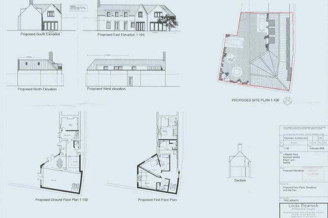 Thumbnail Property for sale in Market Place, Burnham Market, Kings Lynn, Norfolk