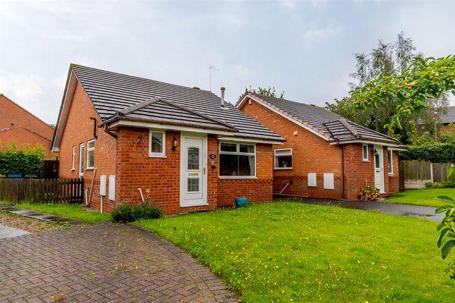 Thumbnail Detached bungalow for sale in Coltman Close, Lichfield