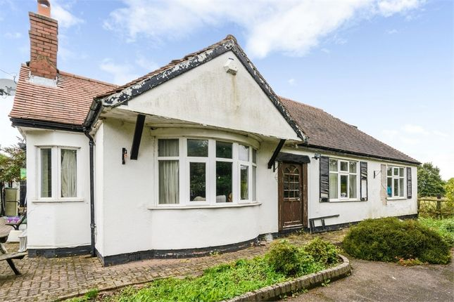 Thumbnail Detached bungalow for sale in Hall Lane, Hammerwich, Burntwood, Staffordshire