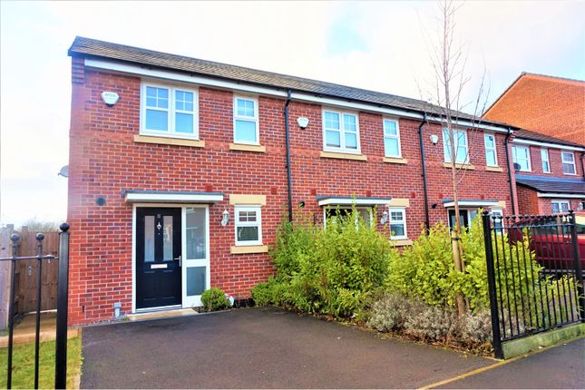 Thumbnail Semi-detached house for sale in Silver Birch Road, Manchester