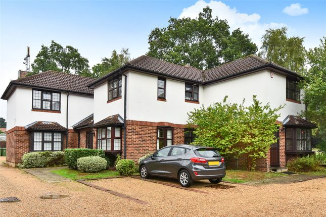 Thumbnail Terraced house for sale in Caesars Court, Caesars Camp Rd, Camberley, Surrey