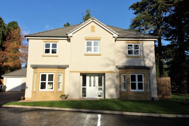 Thumbnail Detached house for sale in Ashludie Hospital Drive, Monifieth, Dundee