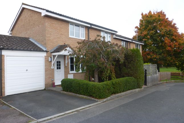 Thumbnail End terrace house to rent in Taunton Way, Hereford