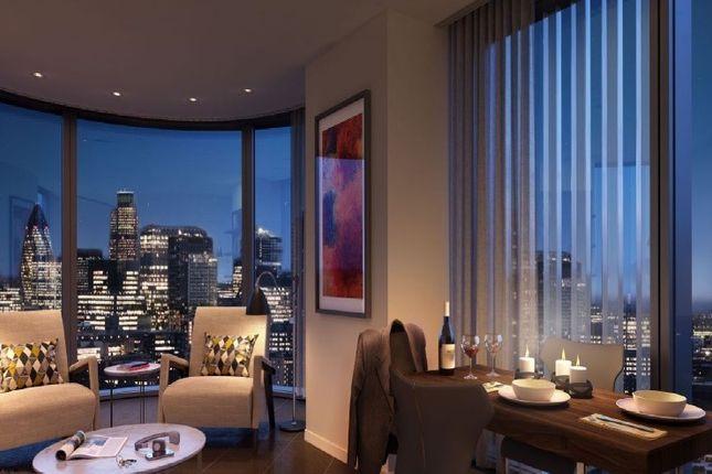 Reception of Lexicon Apartments, London EC1V
