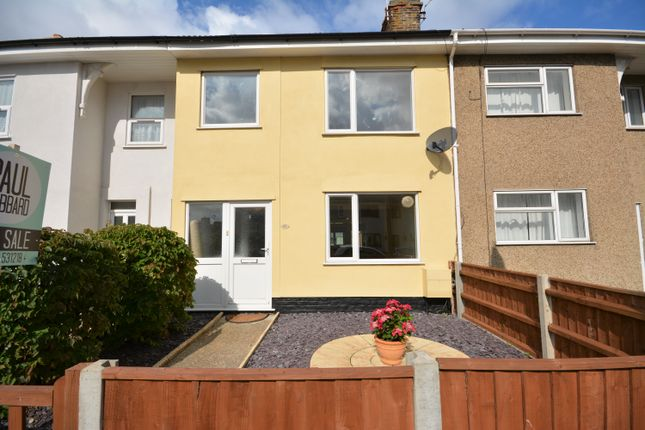 Thumbnail Terraced house to rent in Clemence Street, Lowestoft, Suffolk