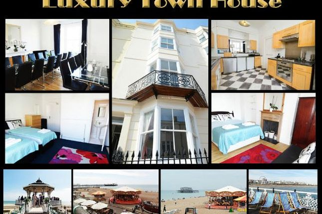 Thumbnail Town house to rent in Waterloo Street, Hove