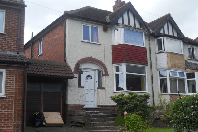 Thumbnail Semi-detached house for sale in Oxhill Road, Birmingham