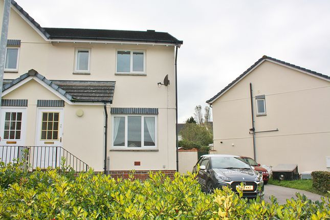 Thumbnail Semi-detached house to rent in Foxglove Close, Launceston