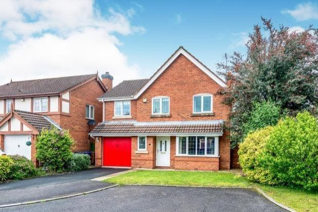 Thumbnail Detached house to rent in Coppice Grove, Lichfield