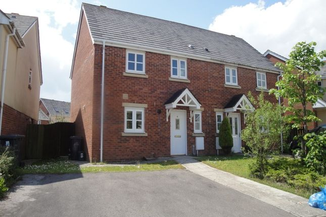 Thumbnail Semi-detached house to rent in Lakeside Avenue, Nantyglo, Ebbw Vale