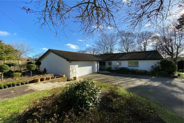 Thumbnail Detached bungalow for sale in Trevilla, Feock, Cornwall