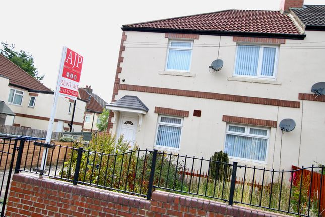 Thumbnail Flat to rent in Bilbrough Gardens, Benwell, Newcastle