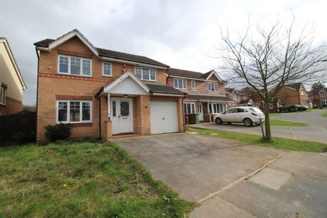 Thumbnail Detached house for sale in Rosedale Close, Normanton