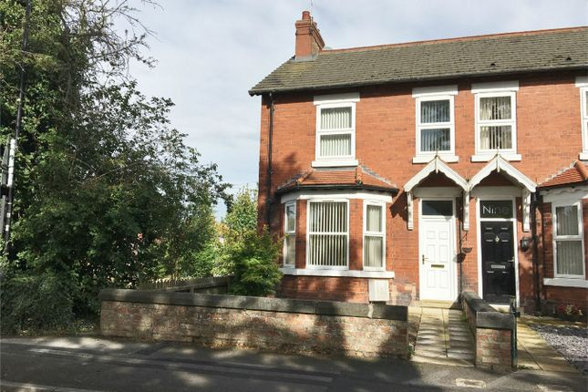 Thumbnail End terrace house to rent in Station Road, Haxby, York