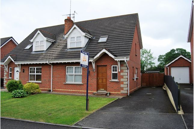 Thumbnail Semi-detached house for sale in The Fairways, Portadown