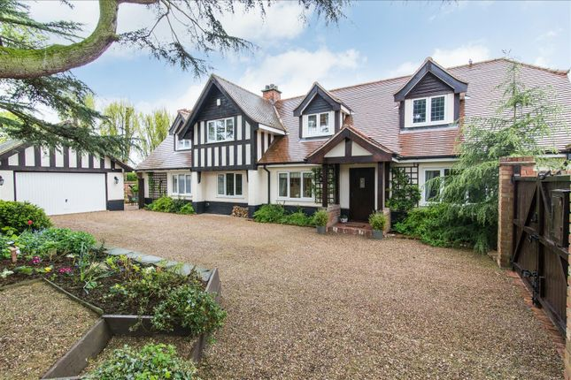 Thumbnail Detached house for sale in The Grove, Hillcrest Road, Keyworth, Nottingham