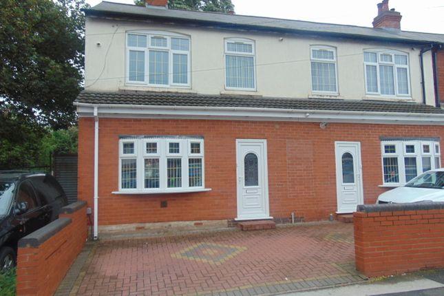 Thumbnail End terrace house for sale in Foxton Road, Alum Rock, Birmingham, West Midlands