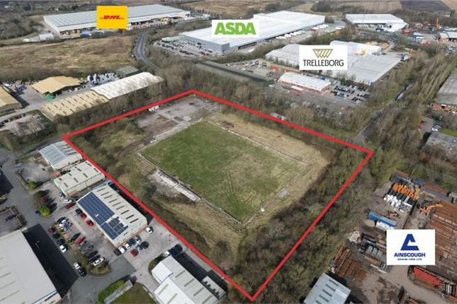 Commercial property for sale in Land At Stanley Industrial Estate, Selby Place, Skelmersdale