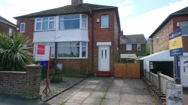 Thumbnail Semi-detached house for sale in Brookland Avenue, Stoke-On-Trent, Staffordshire