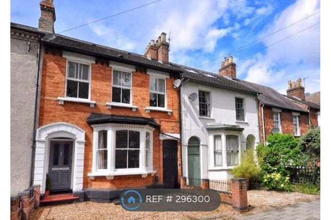 Thumbnail Terraced house to rent in Foster Hill Road, Bedford