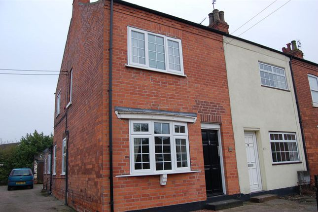 Thumbnail End terrace house to rent in High Street, Retford, Notts