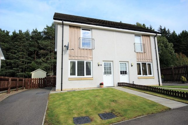 2 bed semi-detached house for sale in 68 Larchwood Drive, Milton Of Leys, Inverness.