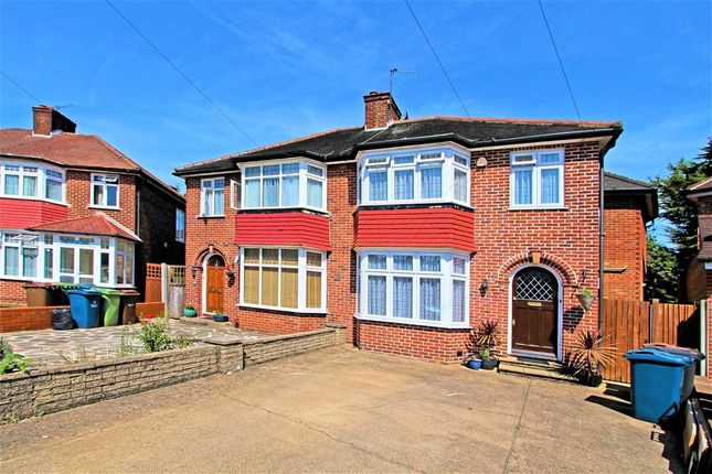 Thumbnail Semi-detached house for sale in Gyles Park, Stanmore