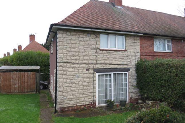Thumbnail End terrace house for sale in Welstead Avenue, Aspley, Nottingham