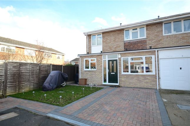 Thumbnail Semi-detached house for sale in Adlington Place, Farnborough, Hampshire