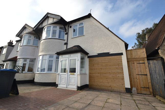 Thumbnail Semi-detached house to rent in Hook Rise North, Tolworth, Surbiton