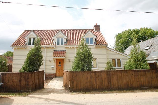 Thumbnail Detached house for sale in Stone Street, Crowfield, Ipswich