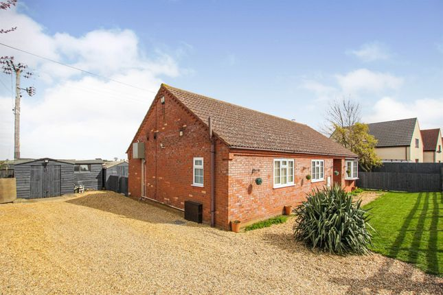 Thumbnail Detached bungalow for sale in Black Horse Drove, Littleport, Ely