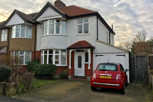 Thumbnail Semi-detached house for sale in Lynwood Drive, Worcester Park