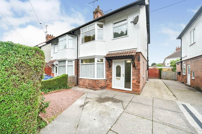 Thumbnail Semi-detached house to rent in Anlaby Park Road North, Hull
