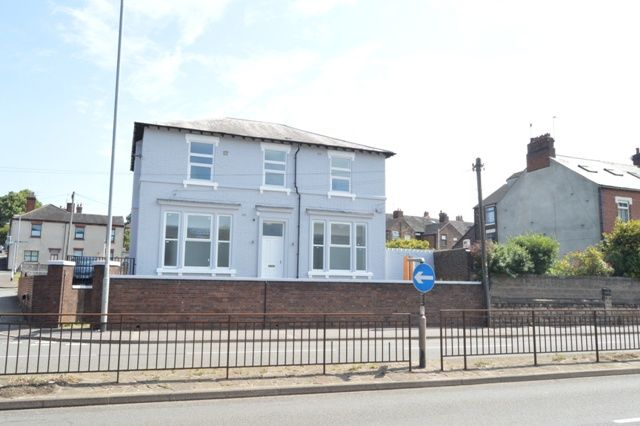 Thumbnail Detached house to rent in London Road, Newcastle-Under-Lyme