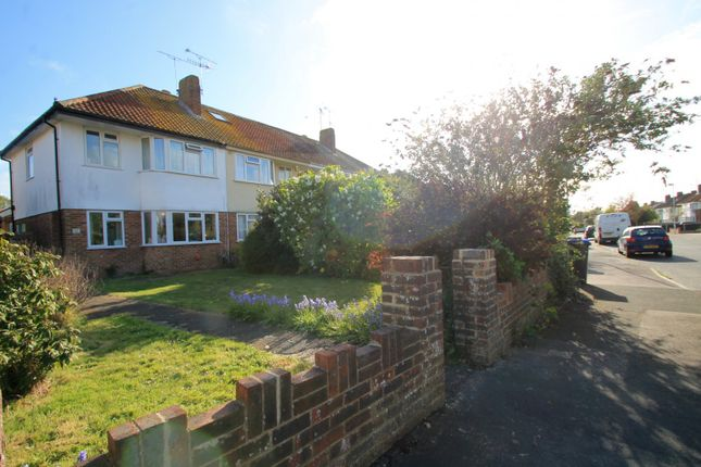 Thumbnail Semi-detached house to rent in Ardingly Drive, Goring-By-Sea, Worthing