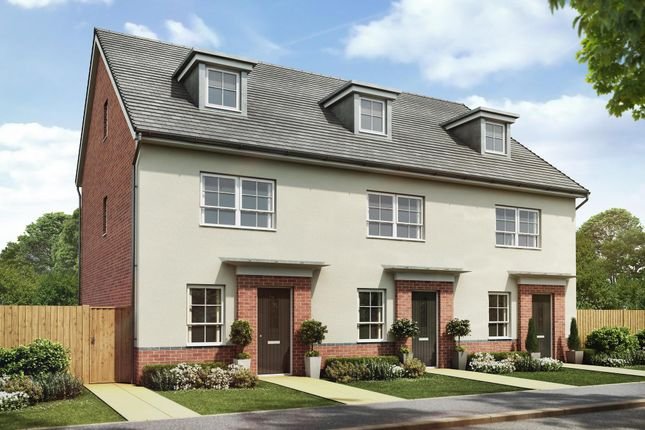 "Thumbnail Semi-detached house for sale in ""Queensville"" at Lightfoot Lane, Fulwood, Preston"
