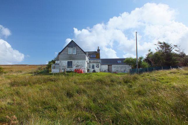 Thumbnail Detached house for sale in Sweening, Vidlin, Shetland