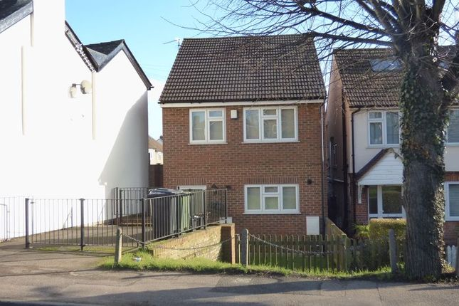 Thumbnail Detached house to rent in High Road, Broxbourne