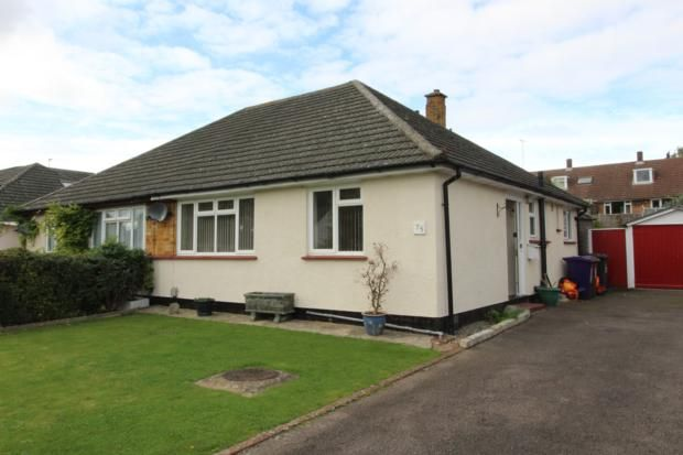 Thumbnail Bungalow to rent in Ninesprings Way, Hitchin