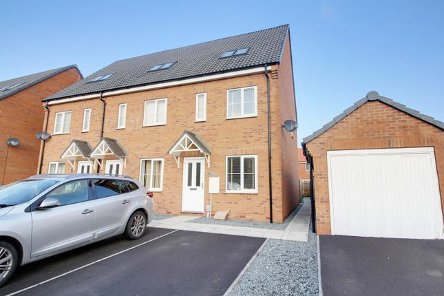 Thumbnail End Terrace House For Sale In Brockwell Park Kingswood Hull East Riding