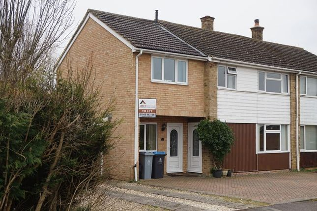 Thumbnail Semi-detached house to rent in Shakespeare Road, Eynsham, Witney