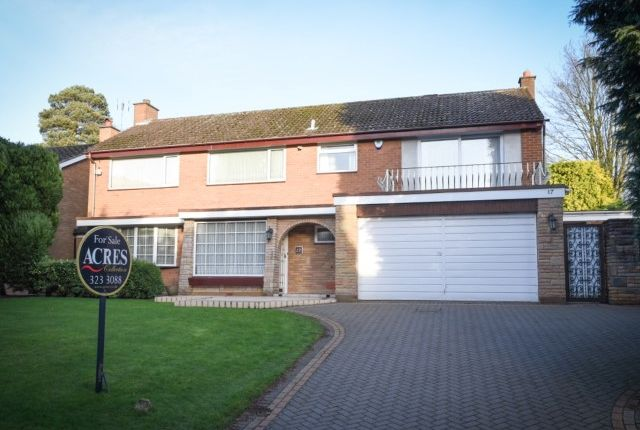 Thumbnail Detached house for sale in Clarry Drive, Off Hartopp Road, Four Oaks, Sutton Coldfield
