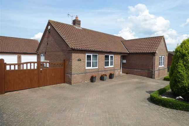 3 bed bungalow for sale in Gainsborough Road, Middle Rasen, Lincolnshire