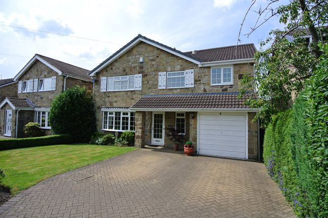 Thumbnail Detached house for sale in Eastfield Drive, Highburton, Huddersfield