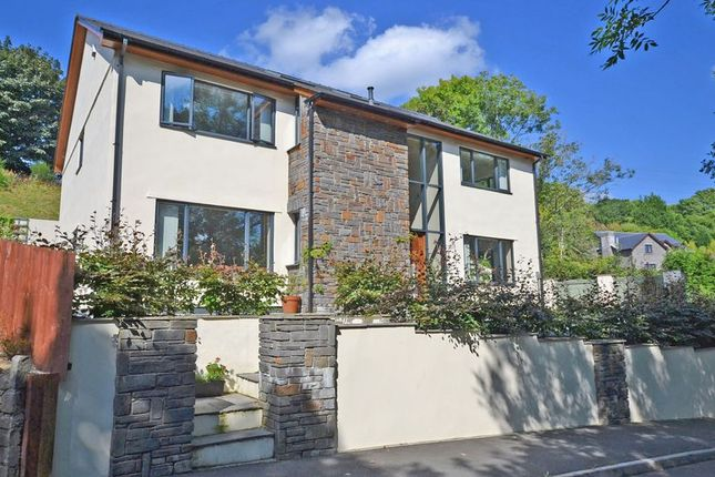 Thumbnail Detached house for sale in An Incredible, High Spec, 4 Bedroom, 3 Bathroom Property Mountain Road, Caerphilly