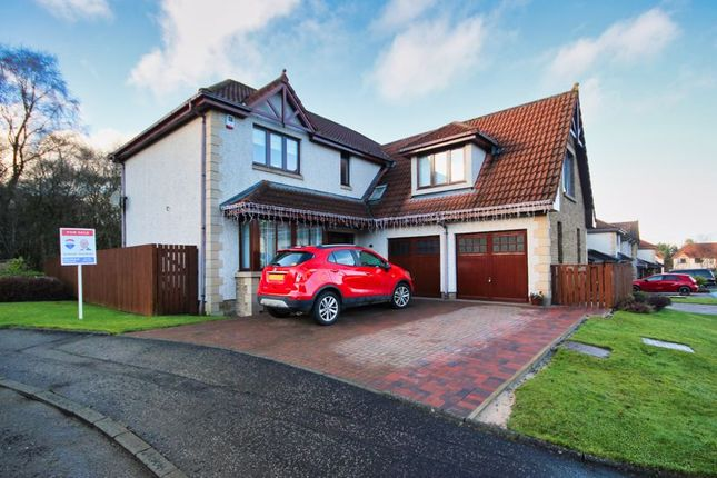 Thumbnail Detached house for sale in Rosebay Glade, Adambrae, Livingston